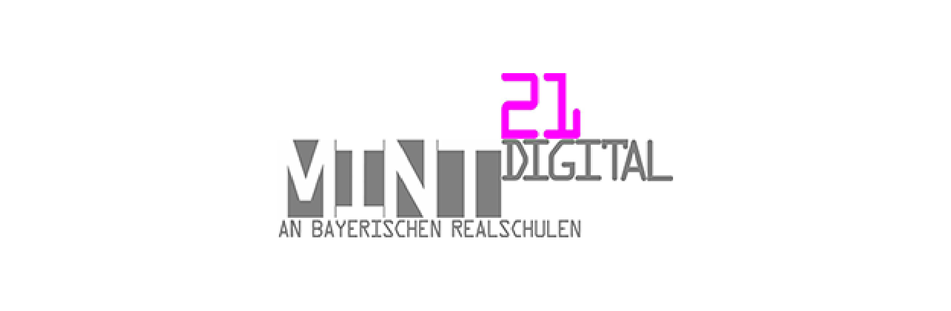 Das Logo der Initiative MINT21 digital